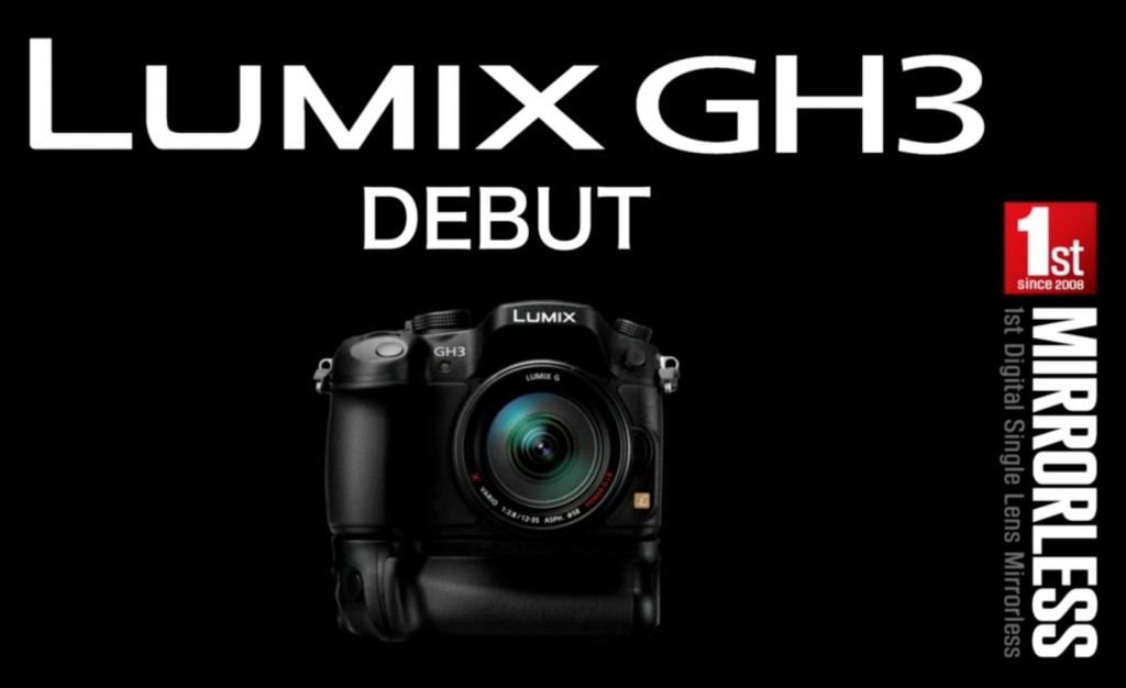 Panasonic Lumix GH3 Debut
