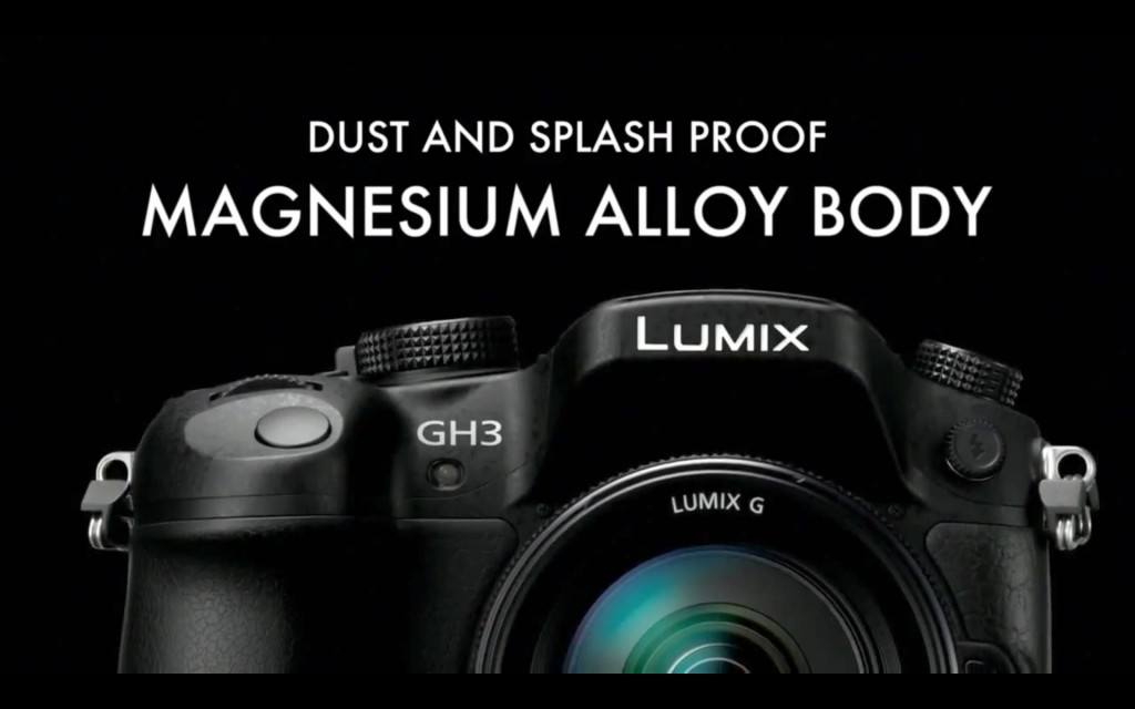 GH3 Dust  And Splash Proof  Magnesium Alloy Body